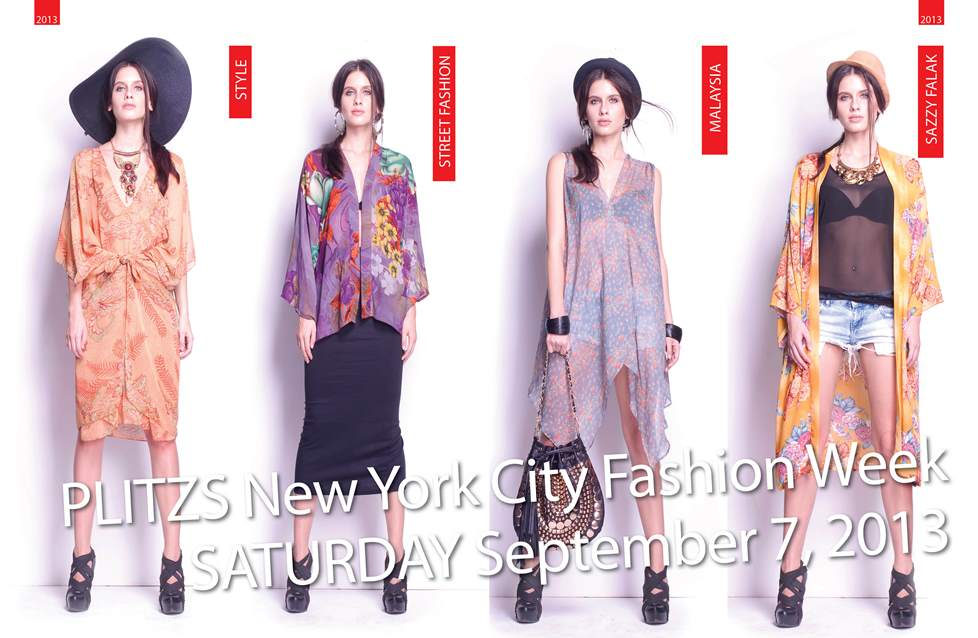 Street Fashion By Sazzy Falak2013-PNYCFW-SEPT-POSTER1