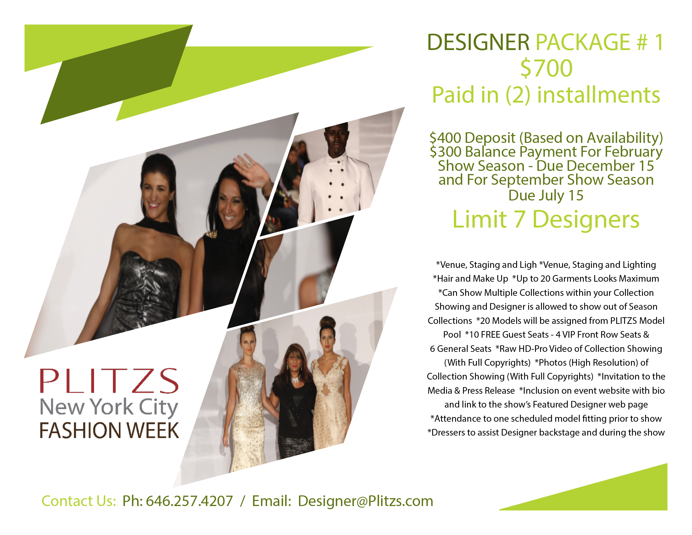 Designer Package #1