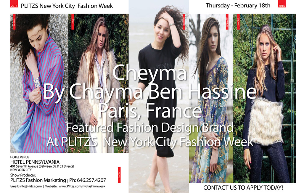 Chayma Ben Hassine2DESGNER PROFILES 2016PNYCFW18FEB