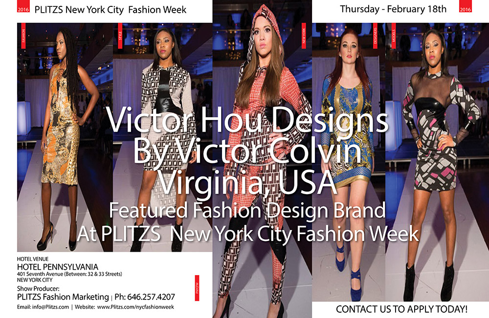 5:30PM – Victor Hou Designs By Victor Colvin – Virginia, USA
