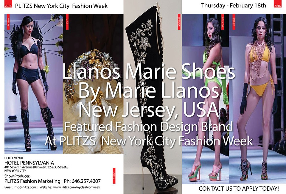 9:45PM – Llanos Marie Shoes By Marie Llanos – New Jersey, USA