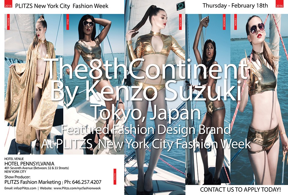 7:00PM – The8thContinent By Kenzo Suzuki – Tokyo, Japan