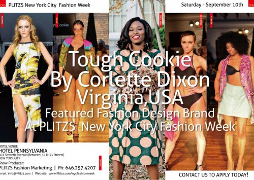 1:00PM – Tough Cookie By Corlette Dixon – Virginia – USA