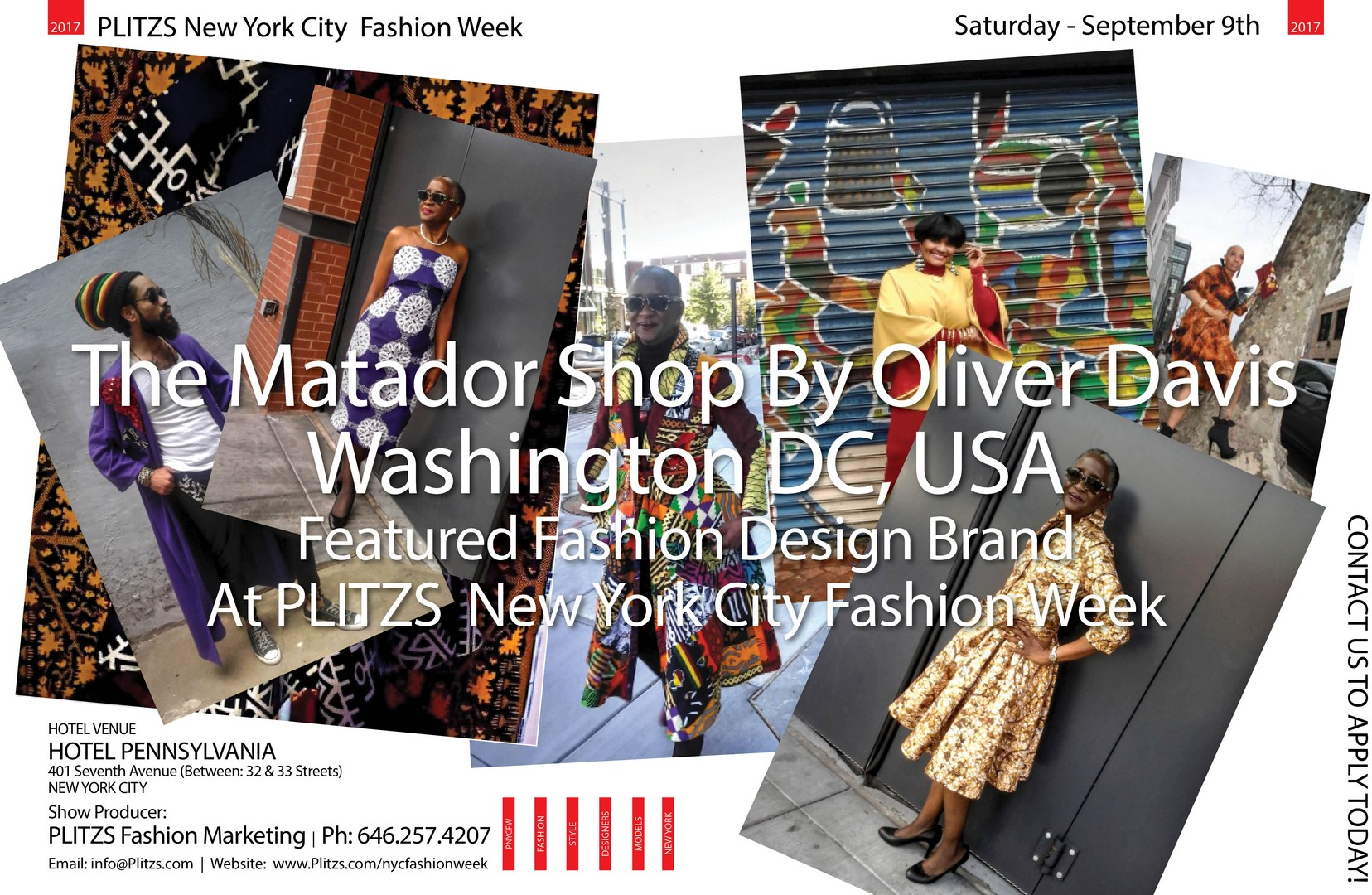 1 00pm The Matador Shop By Oliver Davis Washington Dc Usa Plitzs New York City Fashion Week