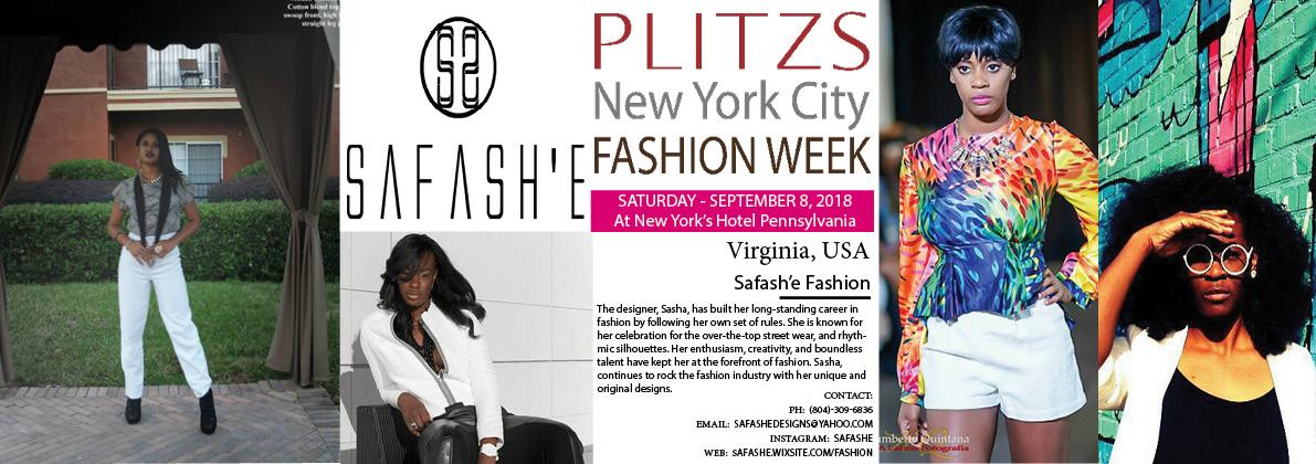 5 15pm Safash E Fashion Virginia Usa Plitzs New York City Fashion Week