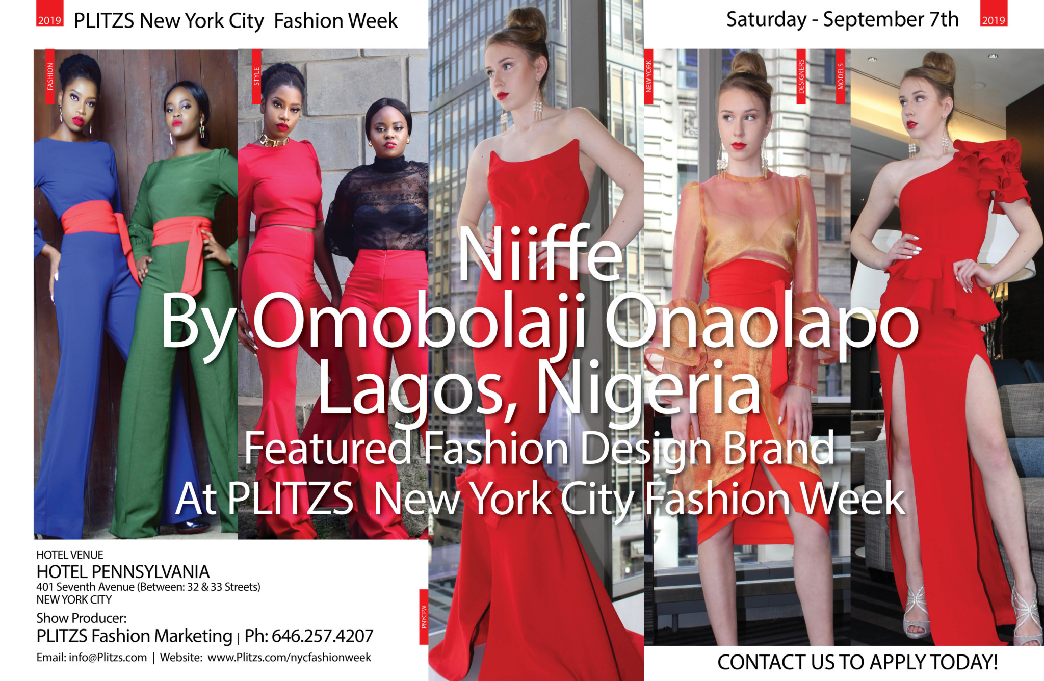 6 30pm Niiffe By Omobolaji Onaolapo Lagos Nigeria Plitzs New York City Fashion Week