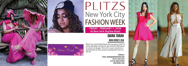 3 15pm Qiana Tarah New Jersey Usa Plitzs New York City Fashion Week
