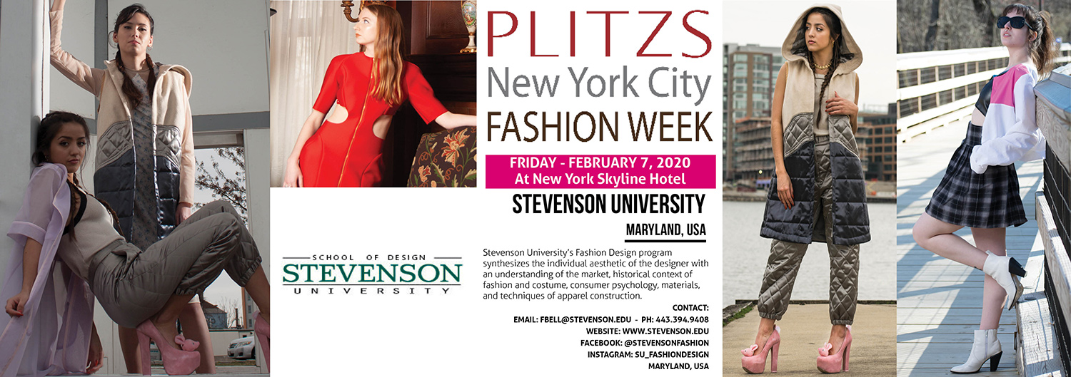 12 00pm Stevenson University Maryland Usa Plitzs New York City Fashion Week