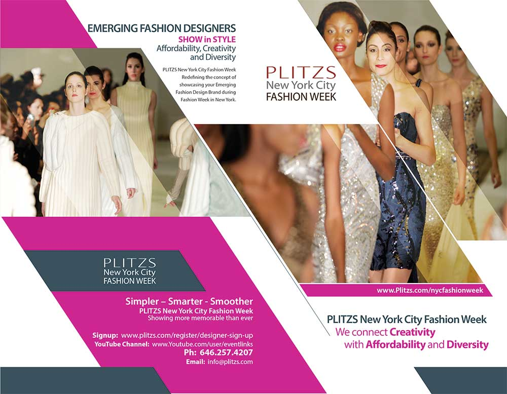 OPTION #1 PLITZS TIME SQUARE NEW YORK FASHION WEEK PHOTO SHOOT OPTION #1 – PLITZS TIME SQUARE NEW YORK FASHION WEEK PHOTO SHOOT DESIGNER POSTER2PNYCFW