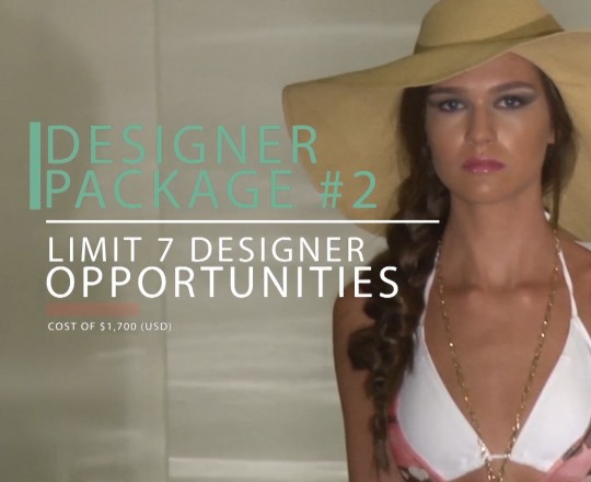 Designer Package #2 for Fashion Week in New York