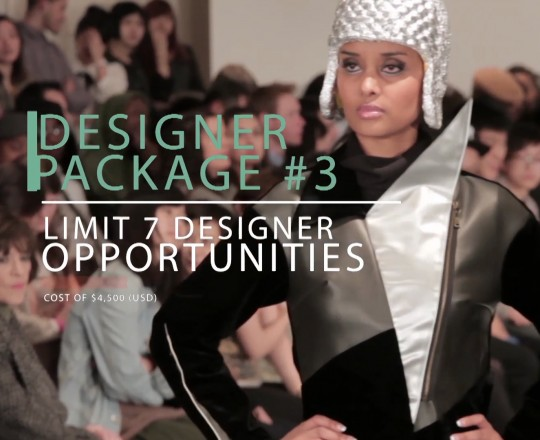 Designer Package #3 for Fashion Week in New York