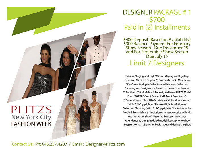 full payment - pnycfw  designer package #1 FULL PAYMENT – PLITZS NEW YORK CITY FASHION WEEK – DESIGNER PACKAGE #1 PNYCFW MEDIA KIT DESINER PACKAGES6B